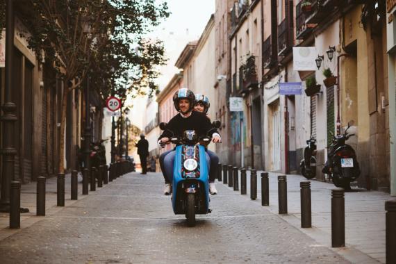Novo, nueva empresa de motosharing en Madrid