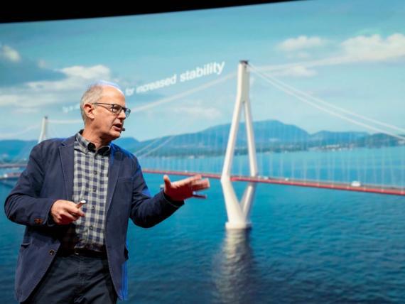 puente flotante noruego