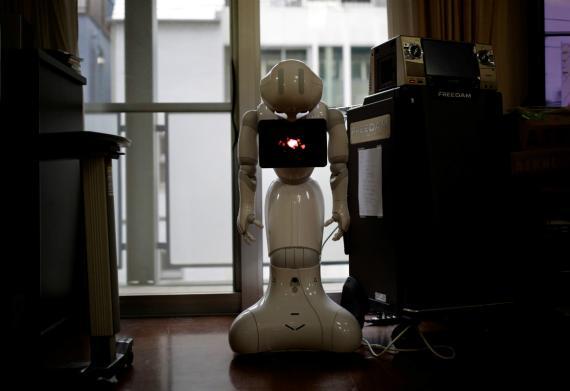 Un robot doméstico en Japón