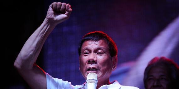 Presidente Rodrigo Duterte.