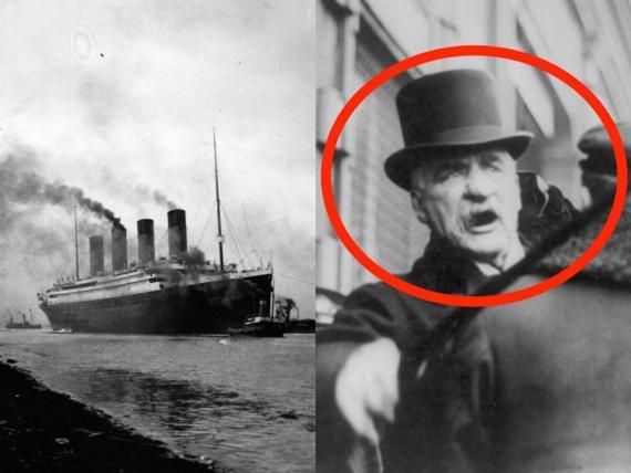 Algunos teóricos de la conspiración culpan del desastre del Titanic a J.P. Morgan.