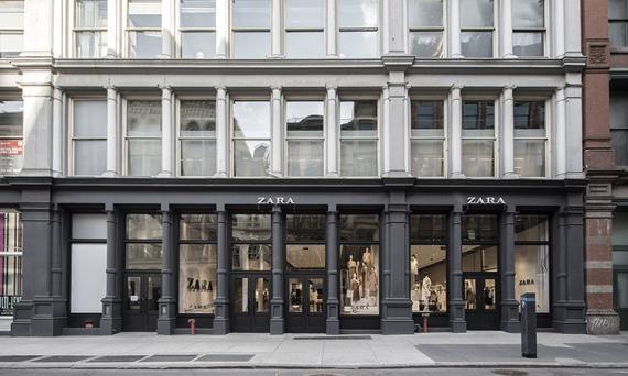 Una tienda de Zara en Nueva York