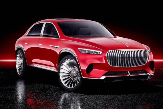 El Vision Mercedes-Maybach Ultimate Luxury concept.