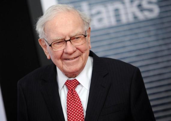 "Warren Buffett at the premiere of ""The Post"" in Washington DC."
