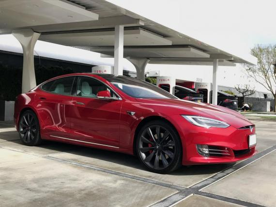The Tesla Model S involved in the incident is not pictured here.