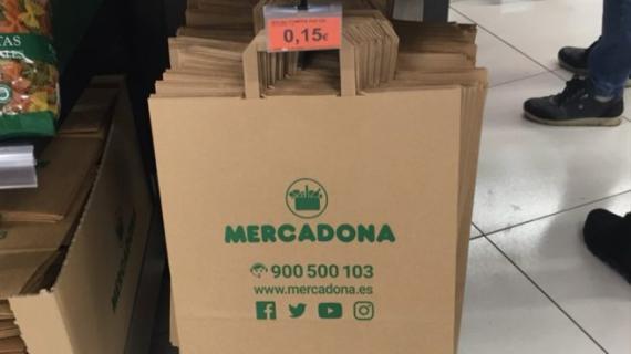 Bolsas de papel de Mercadona