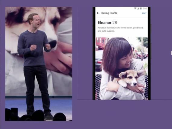 El CEO de Facebook, Mark Zuckerberg, en la inauguración de la F8.