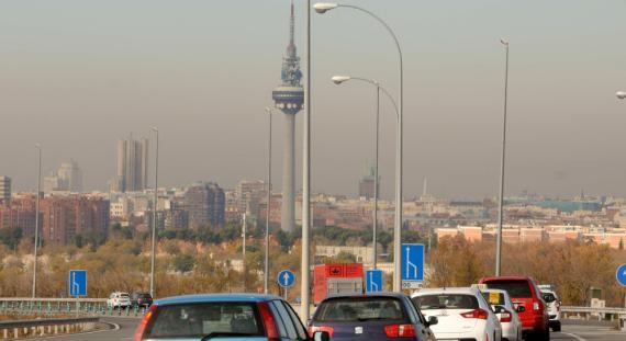 Madrid contaminación