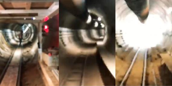 Túneles bajo Los Ángeles de the Boring Company.