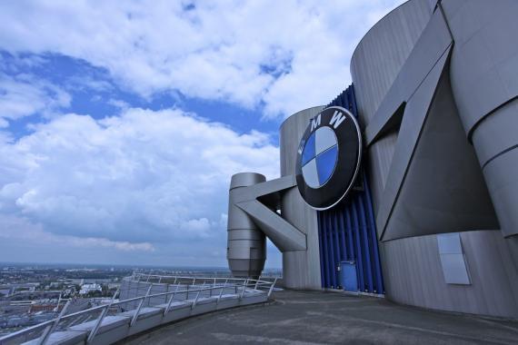 Vista de una sede de BMW