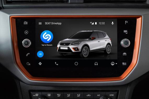 Así se ha integrado Shazam en los coches de la marca Seat