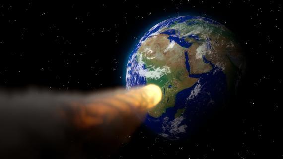 asteroide hacia la tierra