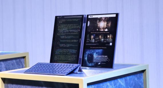 Asus Precog, el portátil con dos pantallas sin teclado