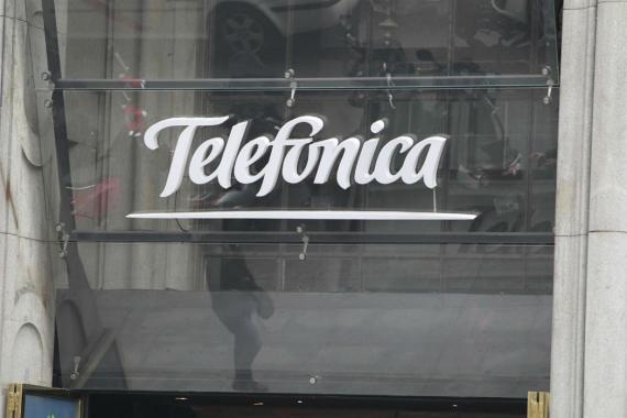 El edificio Telefónica en Madrid