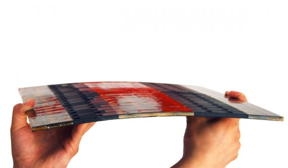 Placa flexible de ferrita fabricada por Premo.