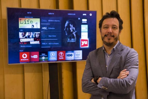 Ignacio García-Legaz, director de Vodafone TV.