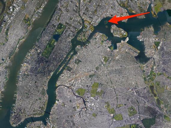 La isla North Brother esconde una de las ciudades más ocupadas del mundo.