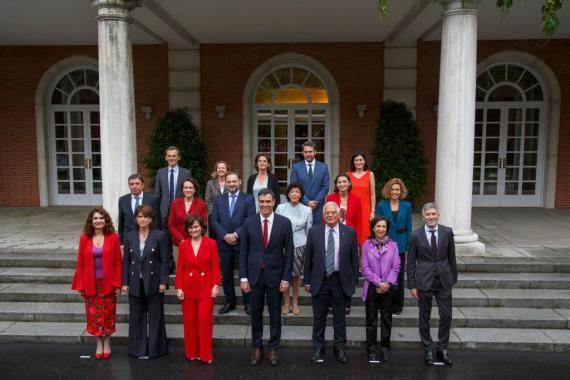 os nuevos ministros del Gobierno de Pedro Sánchez