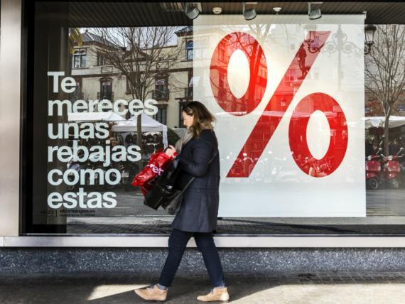 Rebajas de El Corte Inglés en marcas de alta costura con descuentos del 50%.
