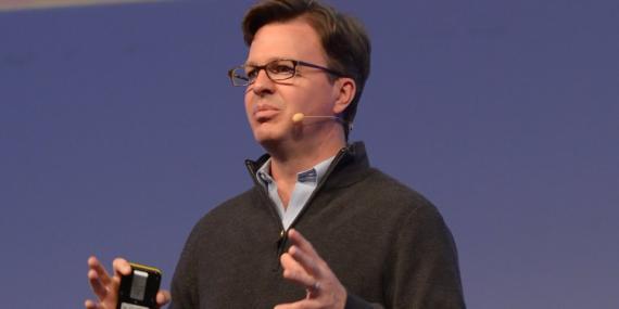 El director de la Fundación Linux, Jim Zemlin
