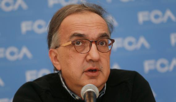 Sergio Marchionne, CEO de FCA
