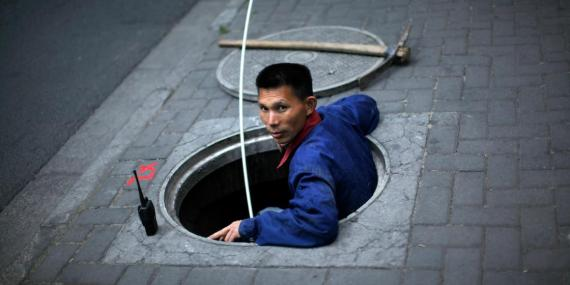 Chinese authorities want to start sifting through sewage wastewater to catch illegal drug users. Stock photo used for illustrative purposes.