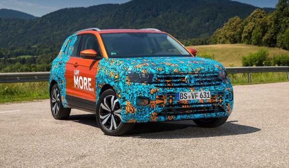 Con 4.107 mm de largo, el T-Cross ocupará el espacio entre el T-Roc y el Tiguan en la gama de Volkswagen.