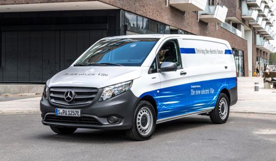 La furgoneta eléctrica que fabrica en España Mercedes y que usará Amazon