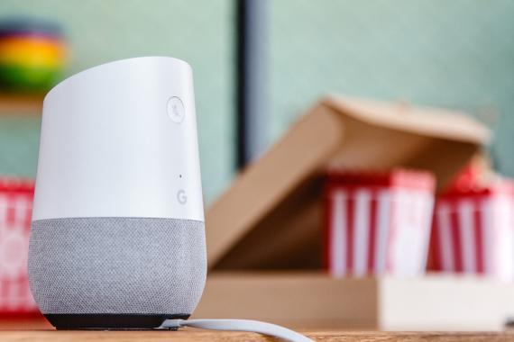 Google Home Palomitas