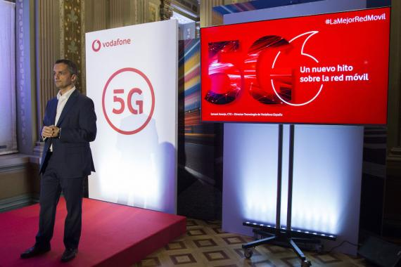 Ismael Asenjo, CTO de Vodafone.
