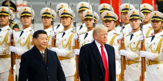 la guerra comercial de Trump comienza con aranceles sobre bienes chinos por valor de 34 mil millones de euros