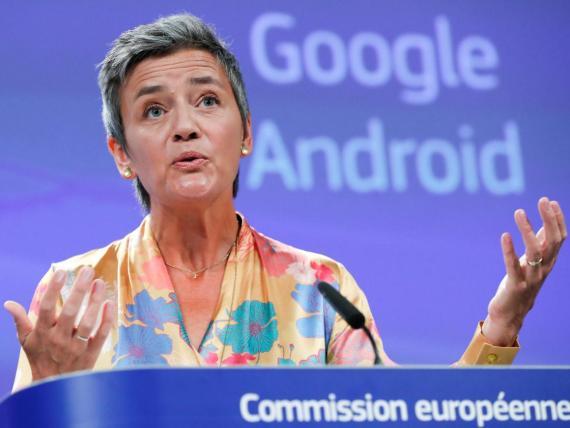 European competition commissioner Margrethe Vestager.