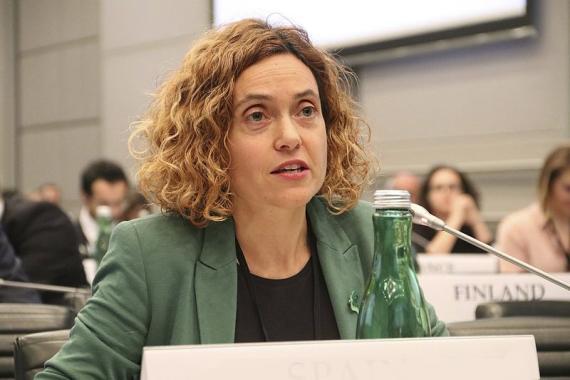 Meritxell Batet, ministra de Política Territorial y Función Pública,