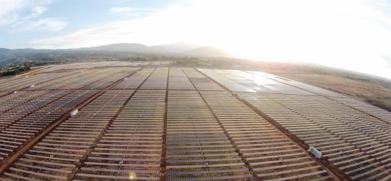 Planta solar fotovoltaica Horus, del Grupo Ortiz