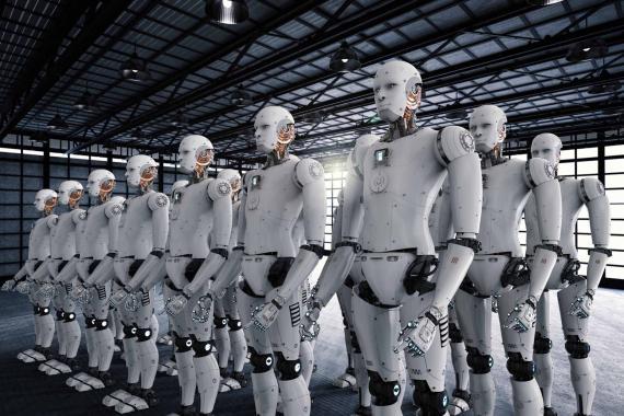 Producción de robots