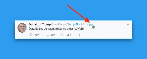 [re]Trump tweet