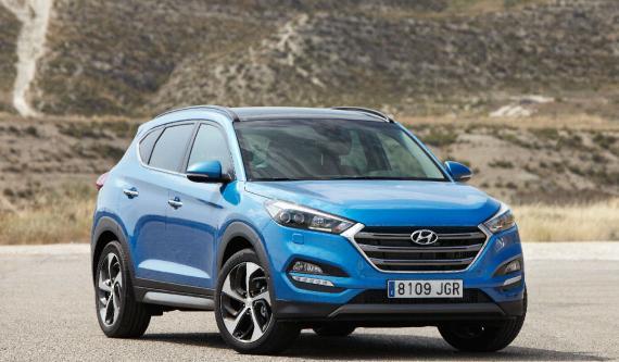 El Hyundai Tucson repite segunda posición entre los SUV.