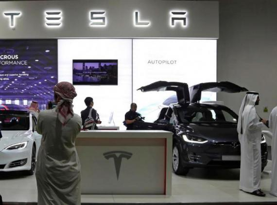 Tesla abrió su primer concesionario en Oriente Medio (Dubai) a finales de 2017.