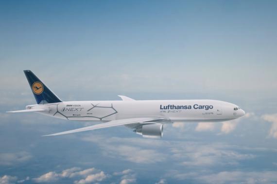 avion de luthansa y bmw