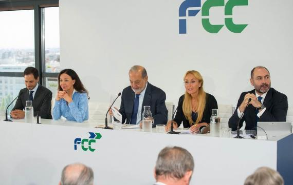 Carlos Slim en el investors Day 2018 de FCC.