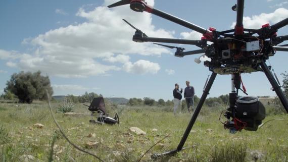 Dron de CO2 Revolution