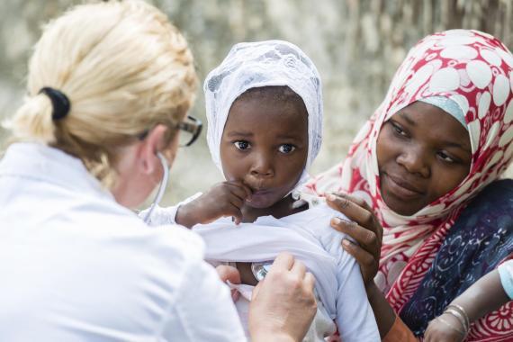 Desnutrición en africa