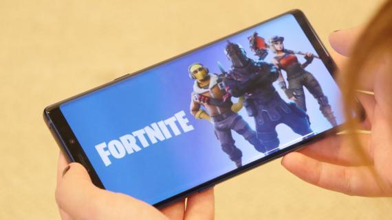 Fortnite en el Samsung Galaxy Note 9