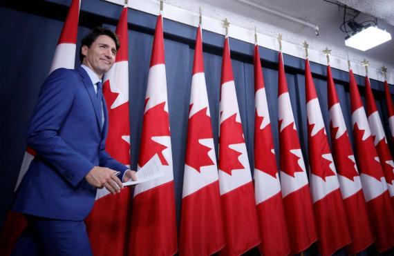 Canada's Prime Minister Justin Trudeau