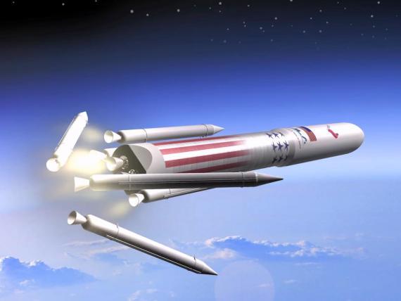 """Los premios """"Punto de Inflexión"""" de la Nasa ayudarán a la United Launch Alliance a desarrollar su siguiente generación del cohete Vulcan."""