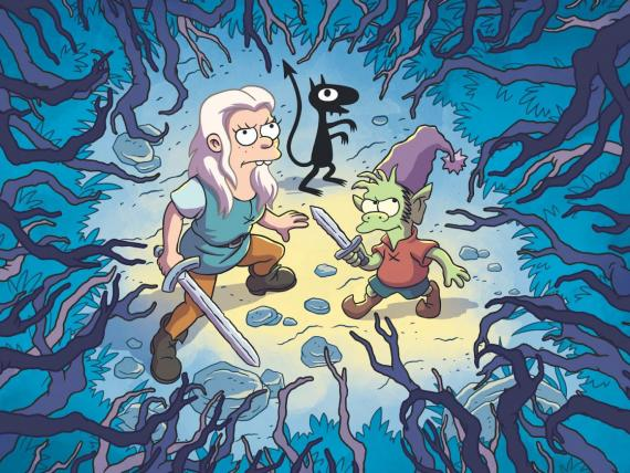 (Des)encanto de Matt Groening