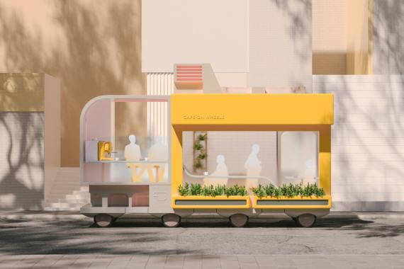 Cafetería ambulante autónoma