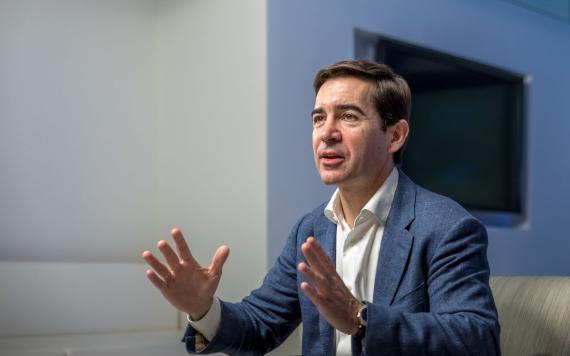 Carlos Torres Vila, sucesor de Francisco González como presidente de BBVA