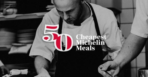 El plato con estrella Michelín más barato del mundo se sirve por sólo 2,2 dólares