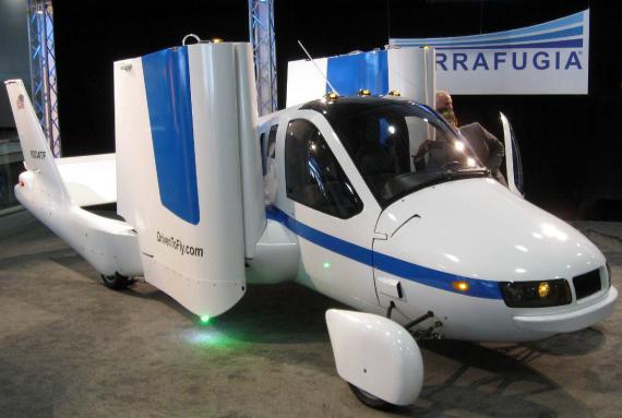 El coche volador Transition de Terrafugia